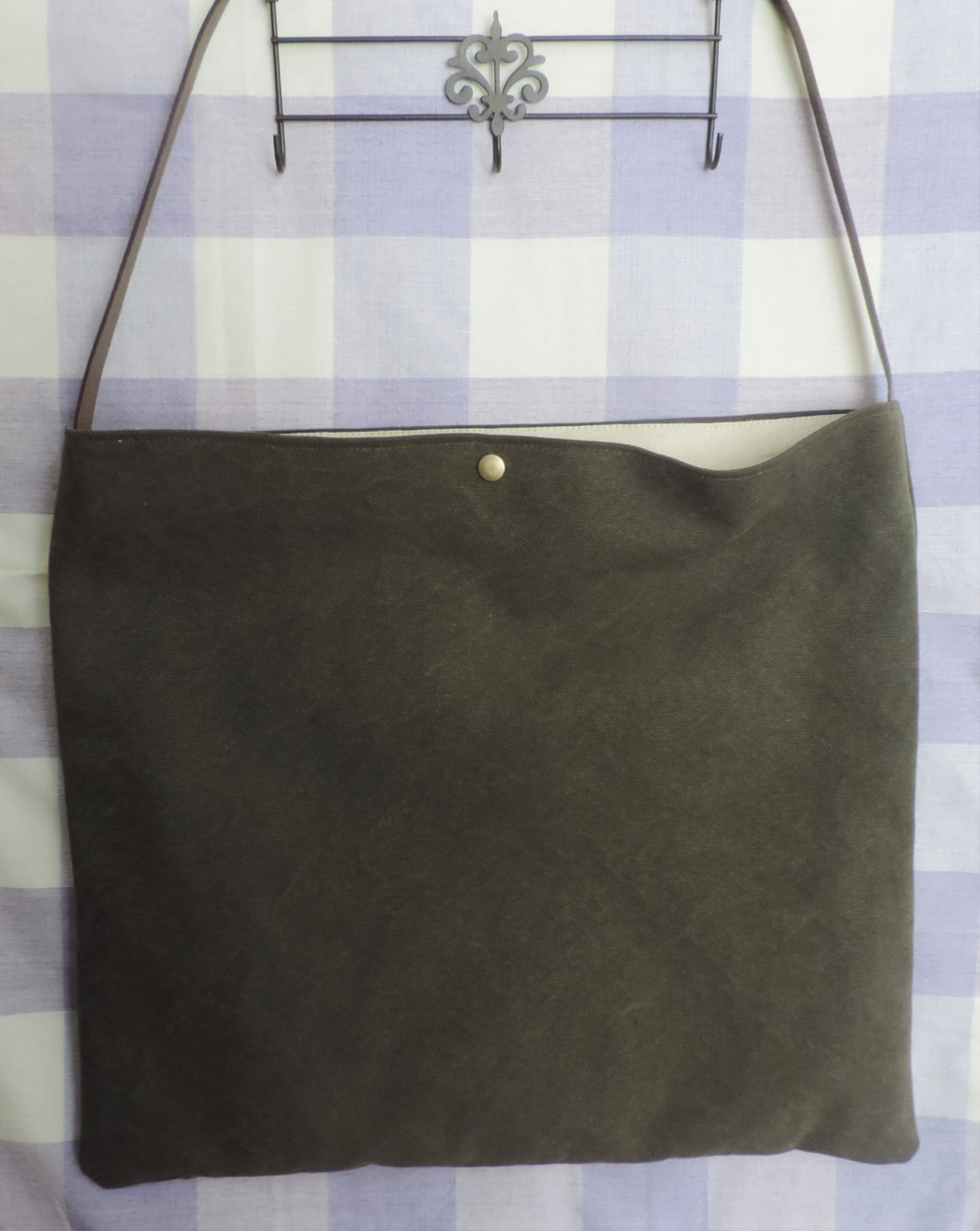 【万人におすすめ♥】カジュアルなバッグを手作りしました!