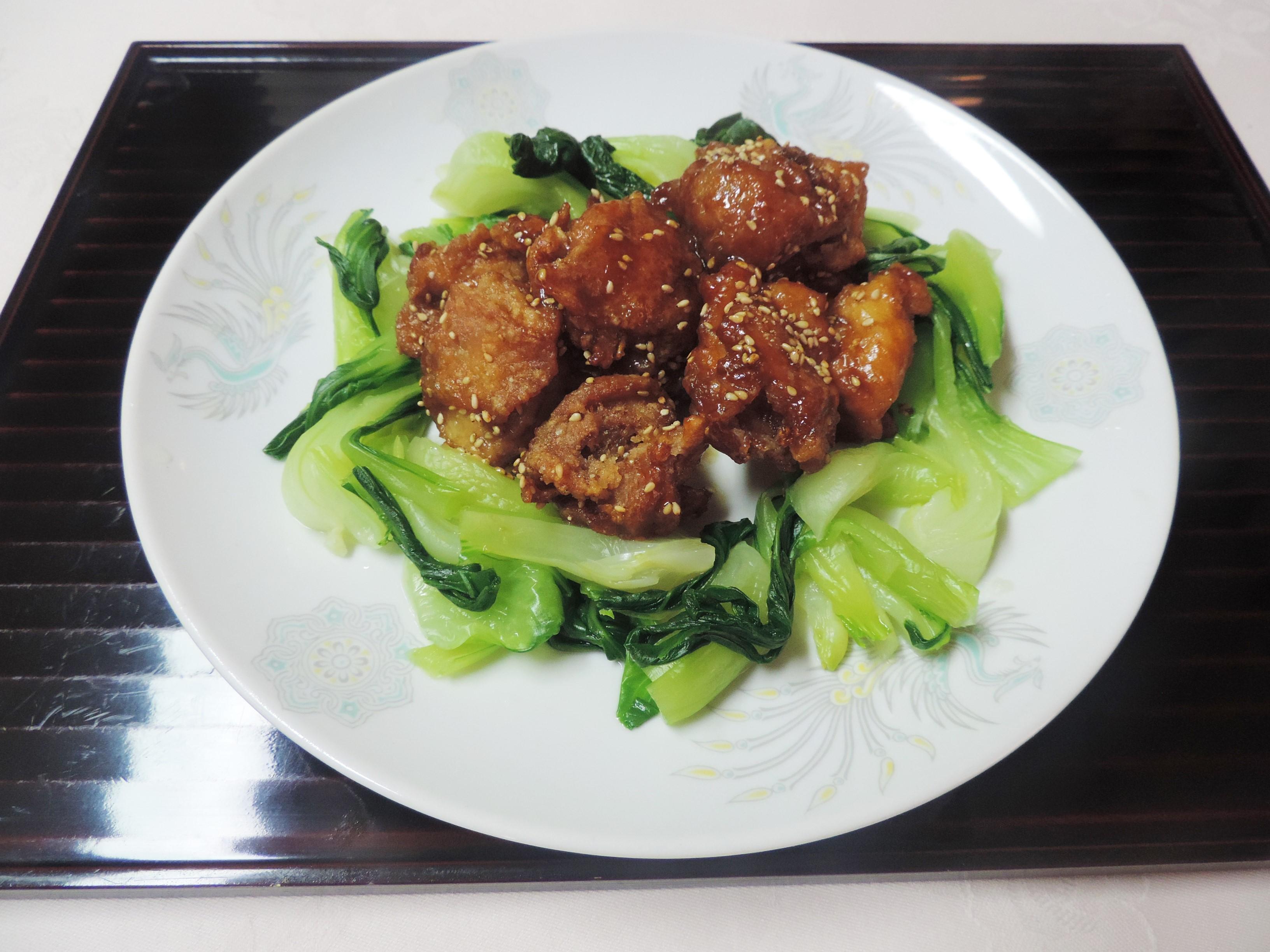 【レシピ付き♥】「ベタッと唐揚げ」を「絶品・甘酢鶏」にアレンジ!