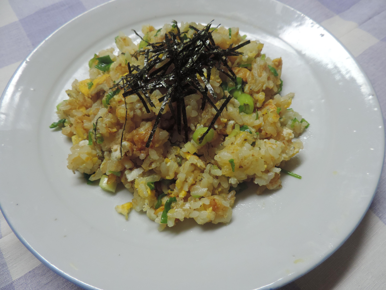 【レシピ付き♥】おとなしく作る!?「和風チャーハン」