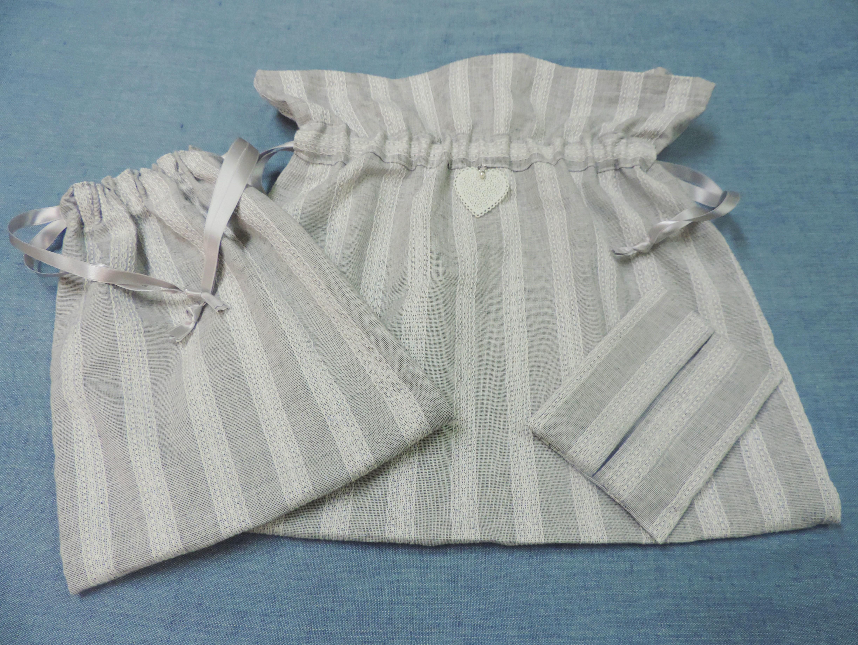 【素敵♥】フェミニンな布の3点セットを手作りしました!