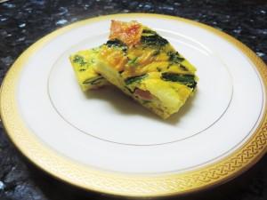 スペイン風オムレツ(キッシュ)のレシピをご紹介します。
