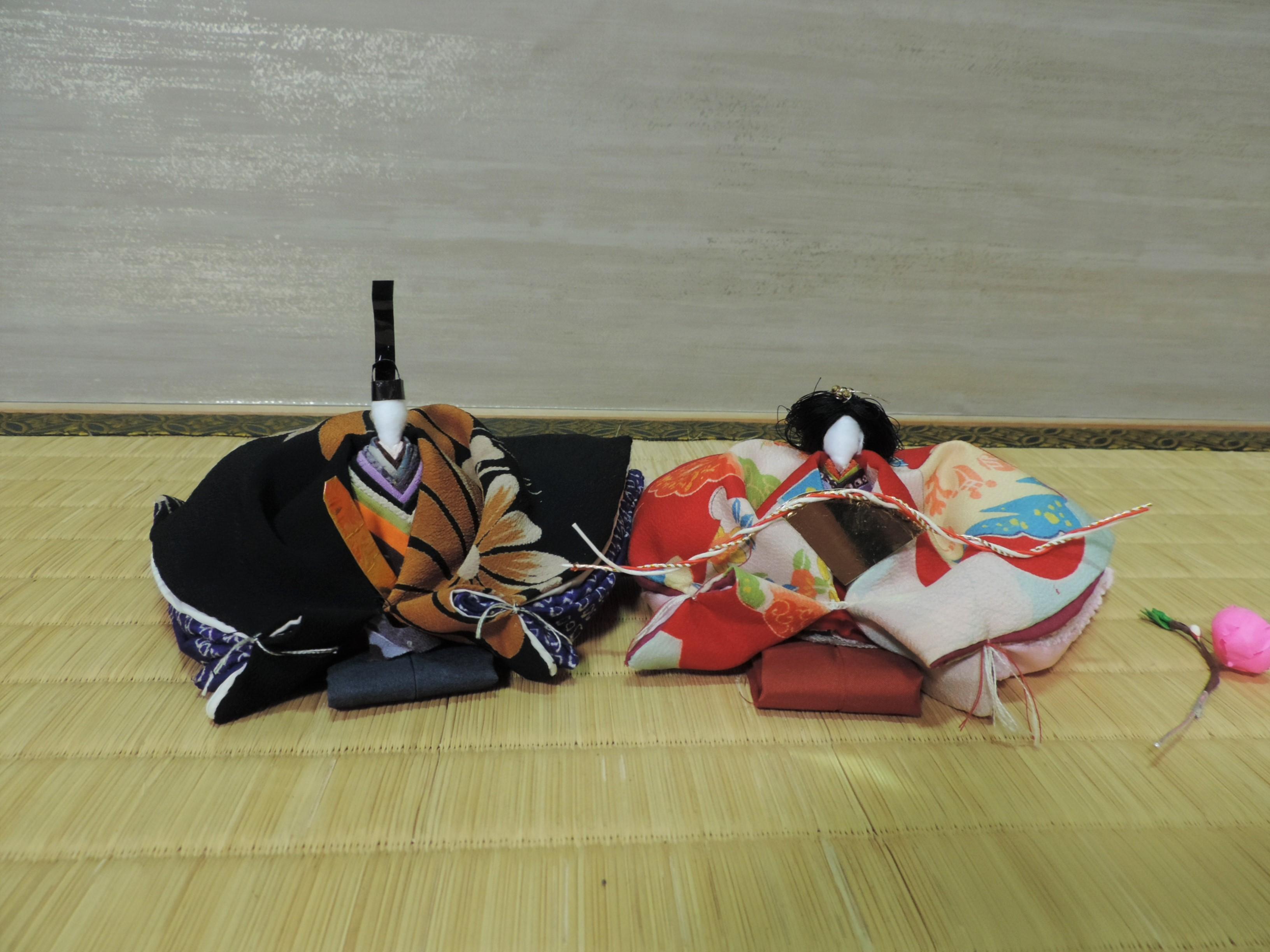 【ひな祭り♥】手作りひな人形をお部屋に飾りました!