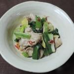 【レシピ付き❤】「中華風・豚しゃぶねぎしょうが」