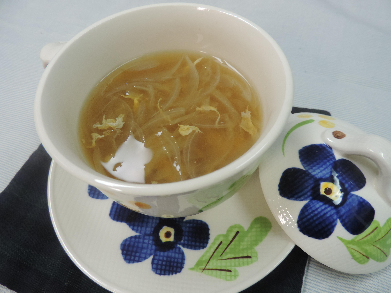 【レシピ付き♥】旬の新玉ねぎで作る、簡単和風スープ