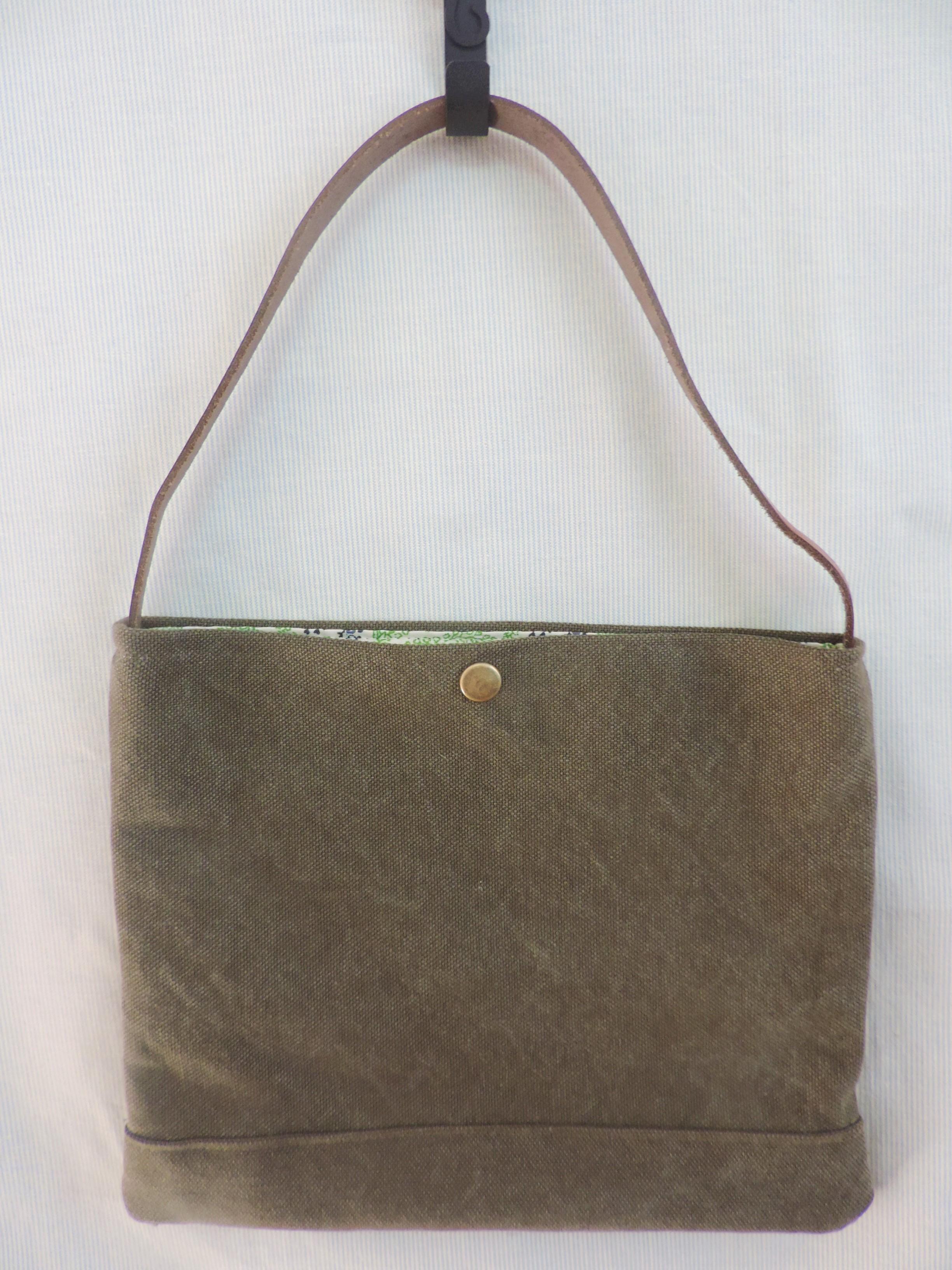 【使い勝手◎♥】小さなお出かけバッグを手作りしました!