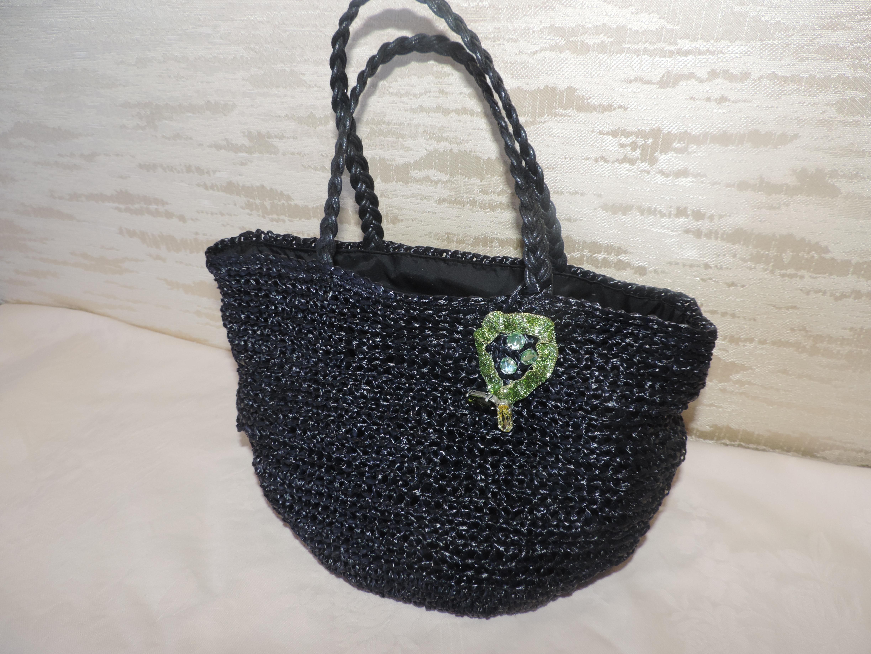 エコアンダリヤ2玉で編む夏のトートバッグを作りました!