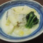 【レシピ付き♥】「たらと白ねぎのクリーム煮」