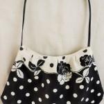【大人女子向け♥】ドット柄の夏バッグを手作りしました!