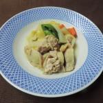 【レシピ補足♥】「鶏のせ野菜煮」で鶏を切らずに煮る理由!